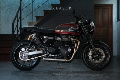 """Greaser"" Speed Twin Alcantara version"